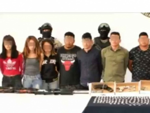Capturan a 14 presuntos integrantes del CJNG